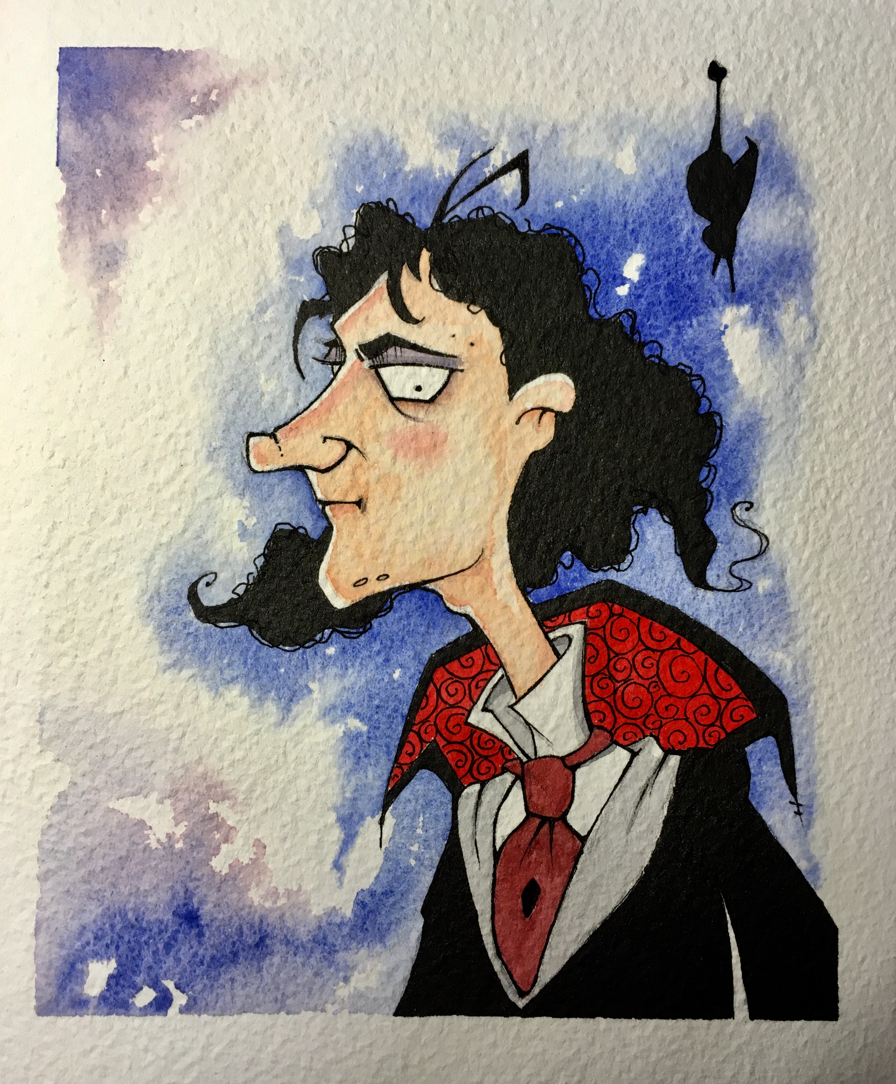 Young Drac side view